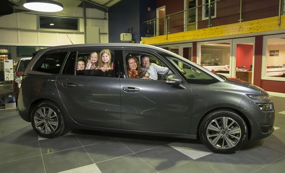 Family Ambassador Citroen Ireland