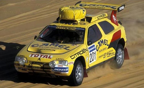 Vatanen & the Citroën ZX Rally Raid win the Paris Dakar