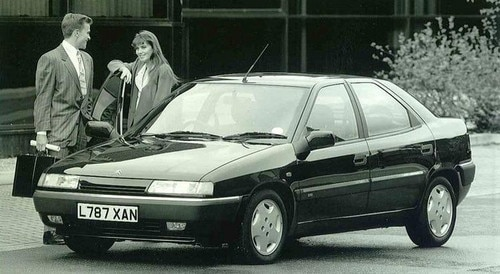 Market launch of the Citroën Xantia