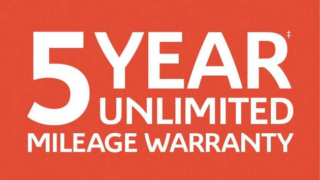 5 Year Unlimited Mileage Warranty V2