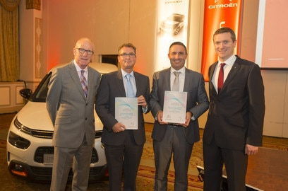 AIRSIDE CITROËN CROWNED CITROËN DEALERSHIP OF THE YEAR 2018