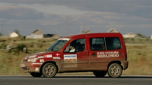 International Citroën Berlingo rally: from Paris to Moscow
