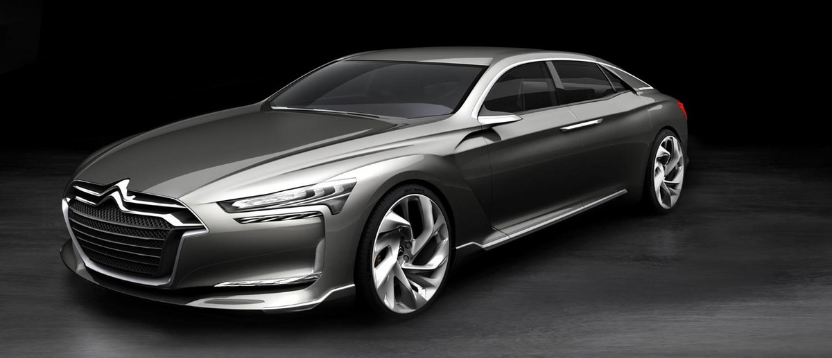 Citroën Metropolis concept car - Powerful, slender body lines