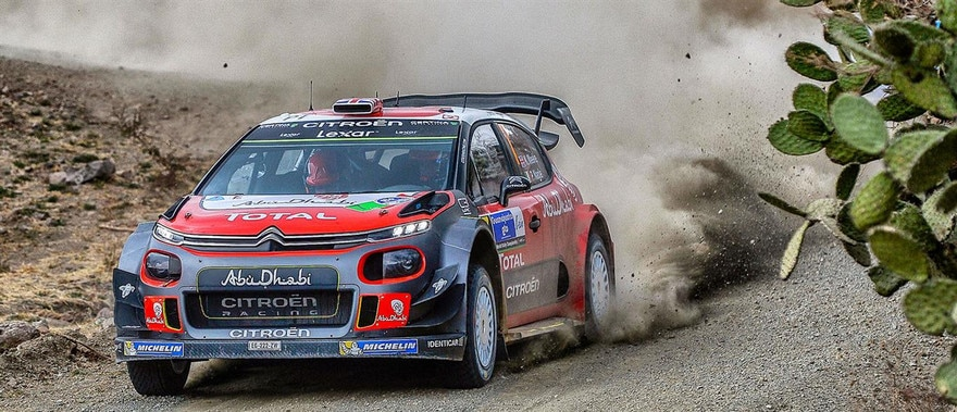 Rally Mexico - Citroen aims high