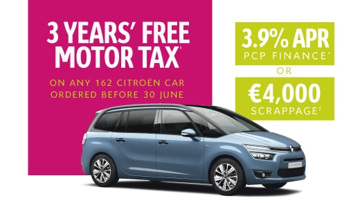 Grand C4 Picasso 162 Offer Ireland promotion