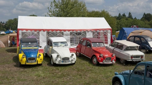 19th world meeting of Citroën 2CV friends
