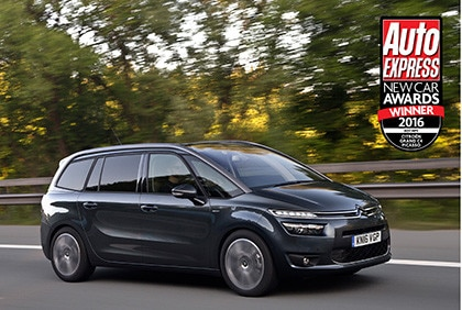 Grand C4 Picasso Scoops 'Best MPV'