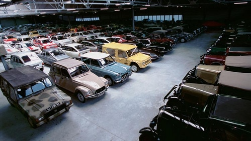 Citroën Conservatoire heritage centre in Aulnay