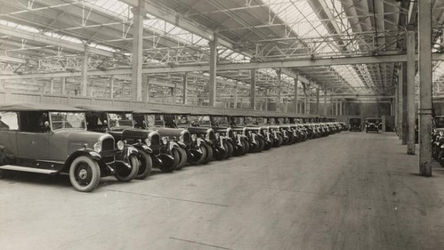 50 000 Citroën cars produced per years