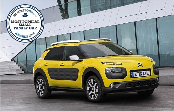 CITROËN C4 CACTUS HONEST JOHN AWARD