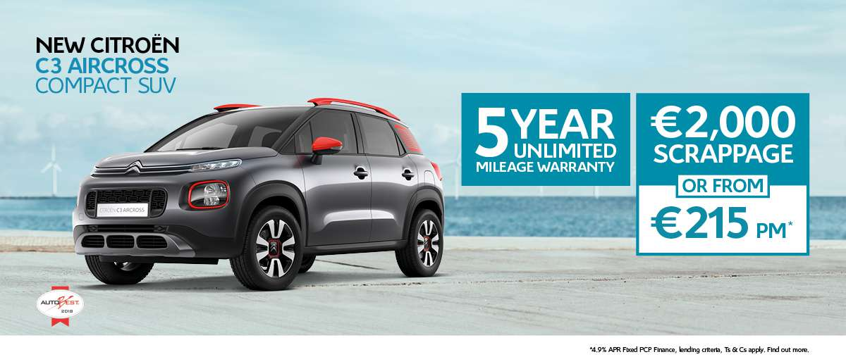 New C3 Aircross 182 Offers