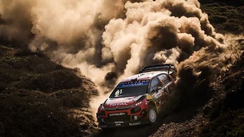 Citroën Fights to Secure Precious Points with the C3 WRC in Sardinia