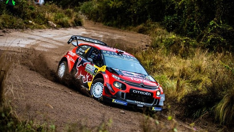 The C3 WRC Tastes Chile For The First Time