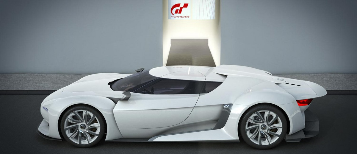 GTbyCitroën - A concept car of muscular looks