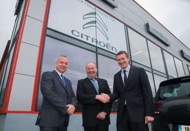 CITROËN APPOINTS JAMES TOMKINS GARAGE AS NEW NORTH WEXFORD DEALERSHIP
