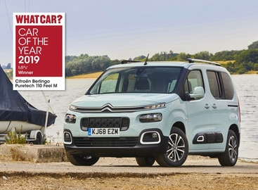 NEW CITROËN BERLINGO SCOOPS 'MPV OF THE YEAR' PRIZE AT WHAT CAR? CAR OF THE YEAR AWARDS 2019