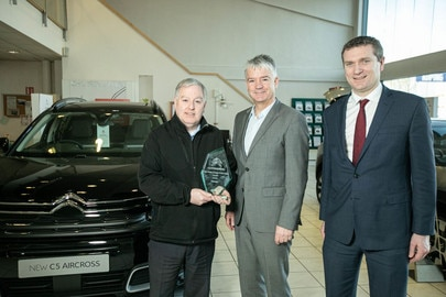 Köping announced as Citroën Aftersales Dealer of the Year 2019