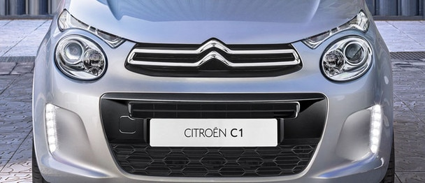 New Citroën C1 - Light signature