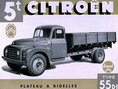 Citroën Type 55 commercial vehicle