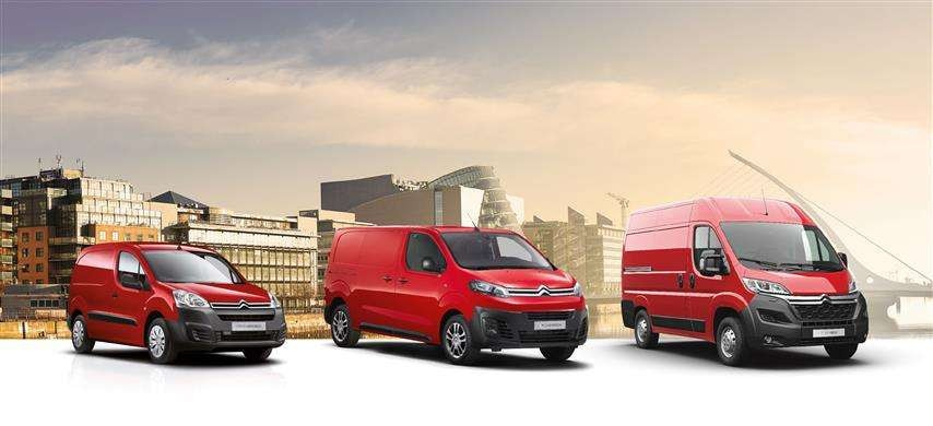 CITROEN TO SHOWCASE COMMERCIAL VEHICLE RANGE AT FACILITIES MANAGEMENT IRELAND 2018