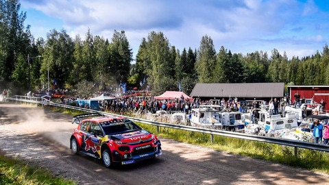 Citroën's Flying Finns Grab Second Place On Home Turf