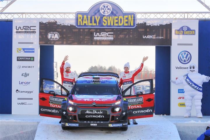 Rally Sweden Craig Breen
