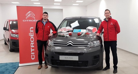 Citroën and TJ O'Mahony team up for Valentine's day campaign