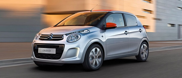 New Citroën C1 - Road holding
