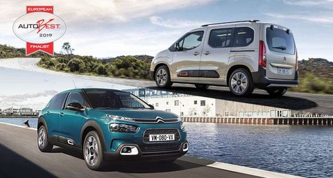 NEW CITROËN BERLINGO AND NEW CITROËN C4 CACTUS ARE FINALISTS OF THE 2019 AUTOBEST AWARD