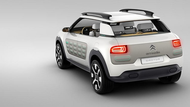 Citroën Cactus concept cars - Functional styling