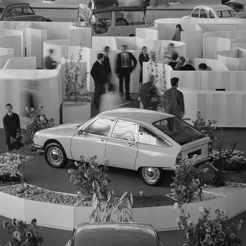 Citroën GS at the Paris Motor Show